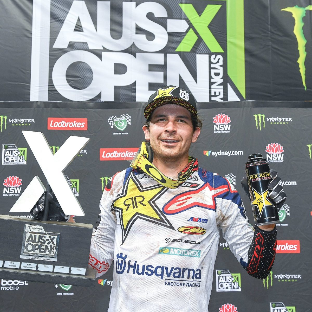 Jason Anderson – Rockstar Energy Husqvarna Factory Racing