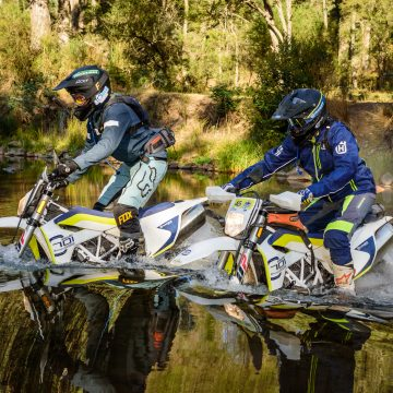 HUSKY 701 ENDURO TREK: FULL LENGTH FEATURE VIDEO