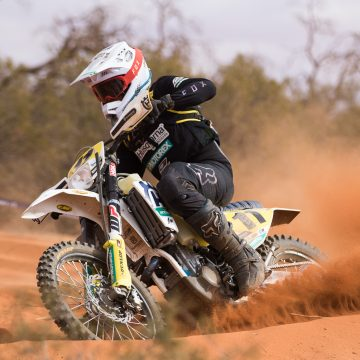 HUSQVARNA ENDURO RACING TEAM'S SANDERS DOMINATES AORC AT BROKEN HILL