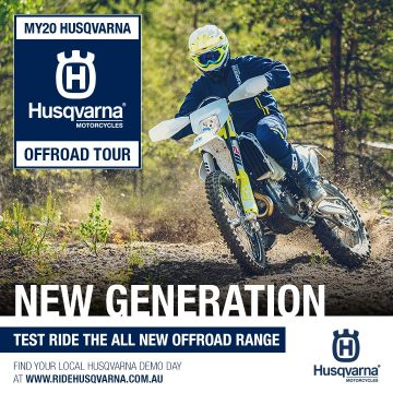 MY20 HUSQVARNA OFF-ROAD TOUR