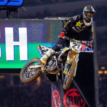 STRONG SHOWING FROM ROCKSTAR ENERGY HUSQVARNA FACTORY RACING AT ARLINGTON SX TRIPLE CROWN