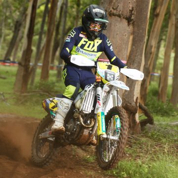 CLEAN SWEEP FOR HUSQVARNA ENDURO RACING TEAM'S SANDERS IN OPENING 3 ROUNDS