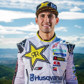LUCIANO BENAVIDES JOINS ROCKSTAR ENERGY HUSQVARNA FACTORY RACING TEAM