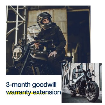 HUSQVARNA MOTORCYCLES GOODWILL WARRANTY EXTENSION
